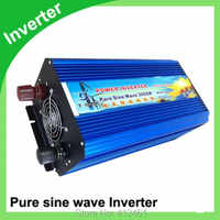 3000W Pure Sine Wave DC TO AC Power Inverter peak 6000W DC12V to AC110V 60HZ Pure Sine Wave 3KW Solar Off Grid Power Inverter