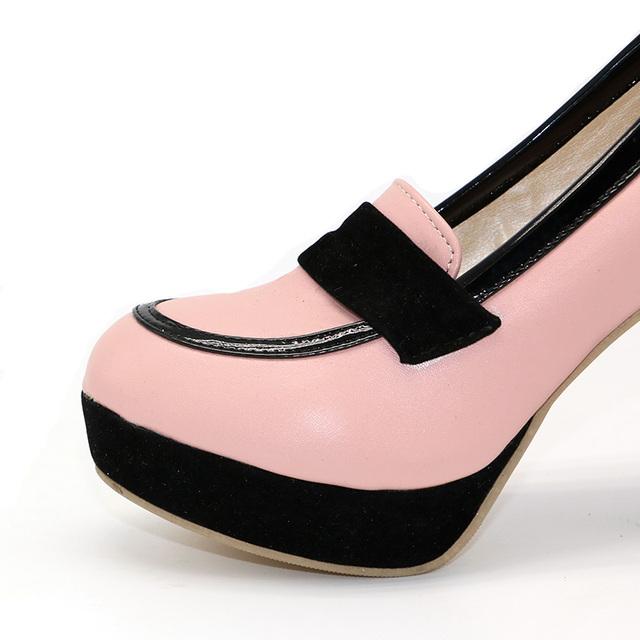 TAOFFEN ladies high heel shoes women sexy dress footwear fashion lady female brand pumps P13025 hot sale EUR size 34-47