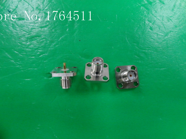 [BELLA] The New Imported Orient Microwave SMA Base Flange Connector  --10PCS/LOT