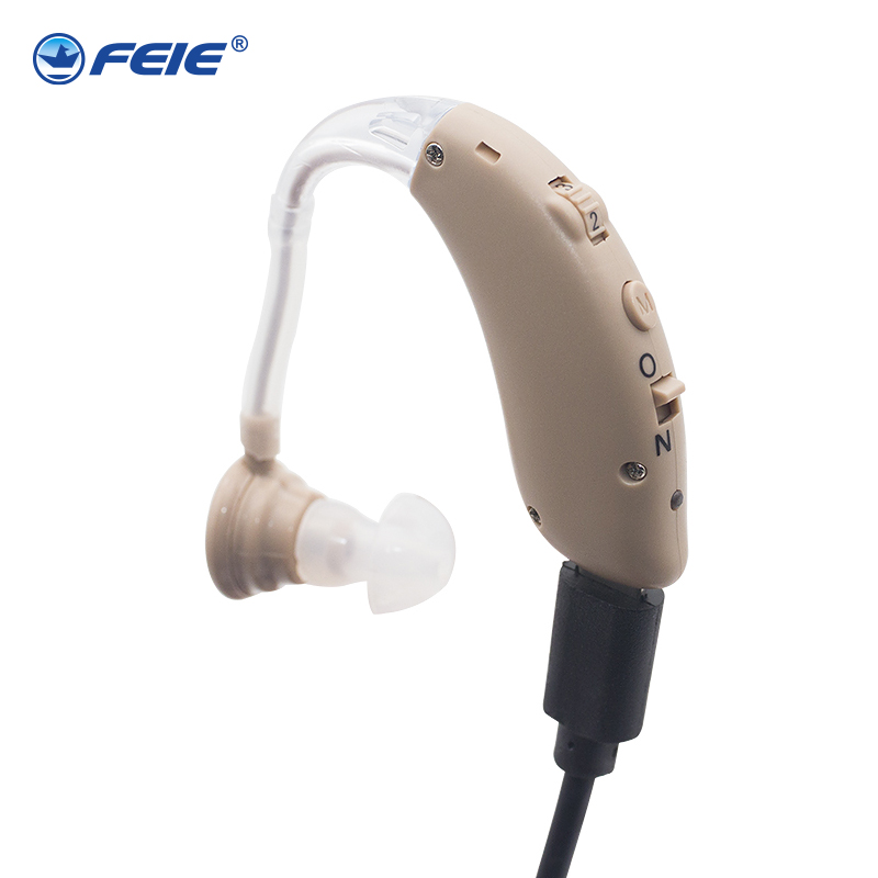 Innovative Product 2018 Cheap Medical Headphones Mini USB Hearing Aid Rechargeable Ear Hearing Enhancer S-25 Free Shipping