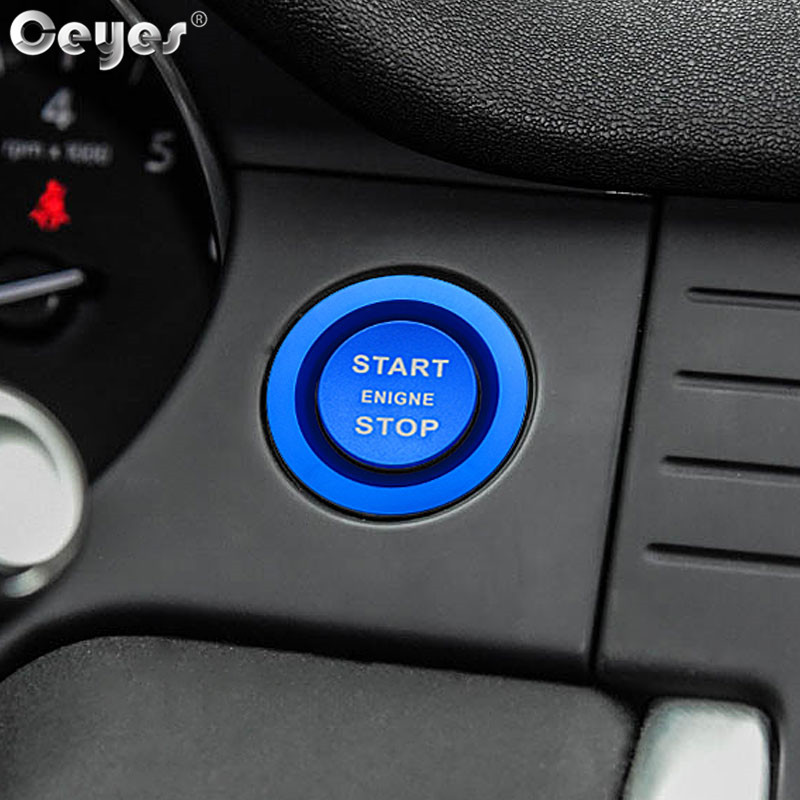Car Start Engine Button Key Ring for LAND ROVER (2)