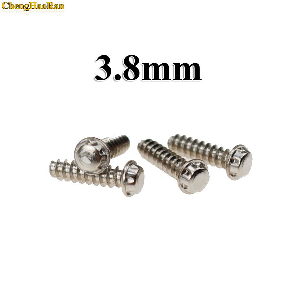 Image 3 - ChengHaoRan 30pcs High Quality 3.8mm 4.5mm Cartridge Case Screw for NGC for Nintendo GameCube Game Accessories-in Replacement Parts & Accessories from Consumer Electronics