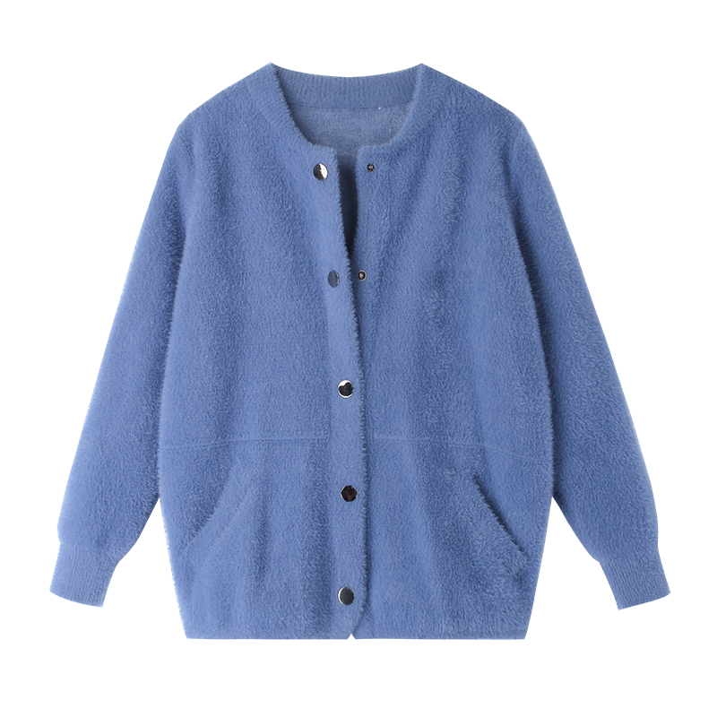 md9s 2019 autumn and winter cardigan women s sweater coat Korean casual wild jacket women va1609