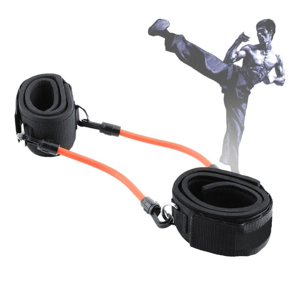 2 Ankle Straps Straps 4 Resistance Tube Workout