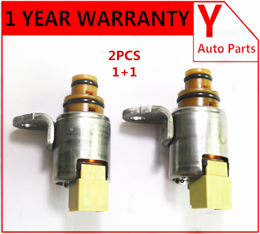 2PCS Transmission Shift Solenoid FN21-21-1F1 4F27E case for Mazda 2/3/5/6/323/CX7/MPV/TRIBUTE/PROTEGE(China)