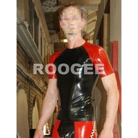 Latex Tees short sleeves for men (not including pants)