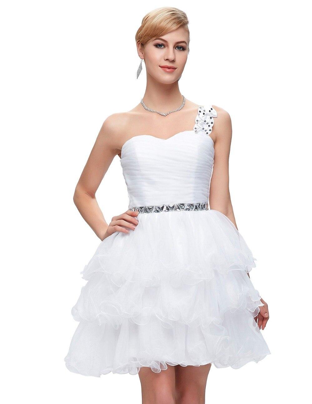 Großartig Kurz Poofy Prom Kleid Bilder - Brautkleider Ideen ...