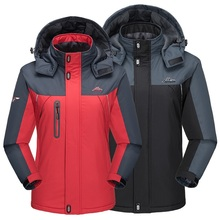 Winter Waterproof Hiking Jacket Women Men Soft shell Fleece Outdoor Sport Thermal Brand Coat Camping Trekking Skiing Jackets Men men s winter waterproof jacket women soft shell rain fleece outdoor sport warm brand coat hiking camping trekking skiing jackets