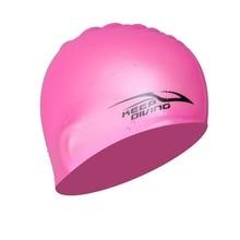 Premium Waterproof Silicone Swimming Cap For Kids Men & Women