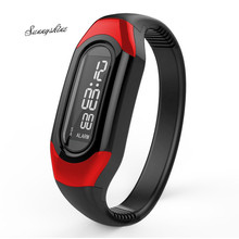 Women men Watches LED Electronic Bracelet Clock Electronic Sport wristwatch wholesale