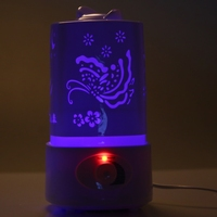 5 In 1 Ultrasonic Aroma Humidifier Aroma Oil Diffuser Air Purifier Ioniser LED Night Light Lamp