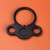 Hunting Accessories 1pc AR End Plate Round Dual Loop Sling Adapter Double Side Right Left