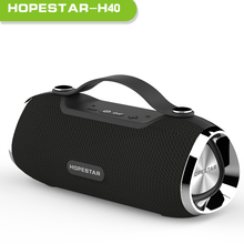 цена на HOPESTAR H40 Portable Bluetooth Speaker Wireless 3D stereo soundbar Waterproof Outdoor Subwoofer Mp3 Player TF for Charge TF USB