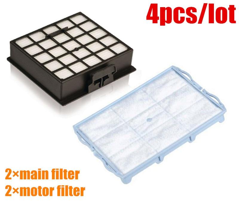 4 pcs/lot Vacuum Cleaner Filters HEPA Filter replacement for bosch BSGL VSZ BSD BSA series vacuum cleaner hepa filter gy308 gy309 gy406 gy 408 129x148mm