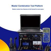 Механик T10 4in1 SMD паяльная инструменты, паяльные станции фена Питание мультиметр для платы фишек ремонт