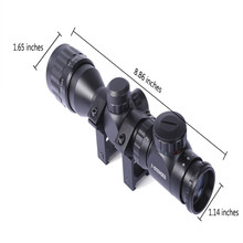 Wholesale prices 2 6 x 32AOEG Outdoor Riflescope Telescope Fast Optical Sight Tactical Reticle Scope for Hunting Gun with Scope Sunshade
