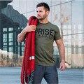 2016 SUBIDA Fitnesse T Shirt men Impresión Culturismo poleras hombr moda Del O Cuello de manga Corta camiseta masculina