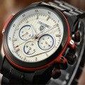 fashion men watch steel automatic mechanical waterproof male casual wristwatch tevise brand luxury man clocks relogio hommer