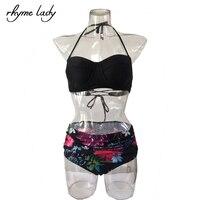 Swimwear Swimsuit Bathing Suit Sexy Bikini Swim Wear Swim Suits Bandage Bikini High Waist Bikini Bandeau