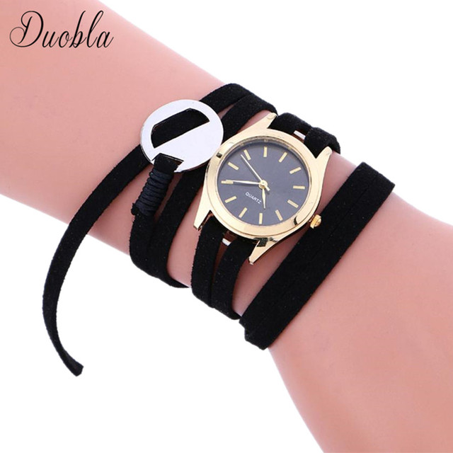 New Fashion Women Watches Luxury Watches Women Black Bracelet Watch Female Quart