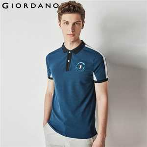 Giordano Men Embroidery Tops Short Sleeves Collar Polo 526d8240d5