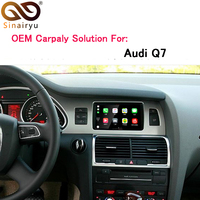 Sinairyu OEM Apple Carplay Android Auto Upgrade Q7 MMI 3G 3G+ Smart Apple CarPlay Box with IOS Airplay