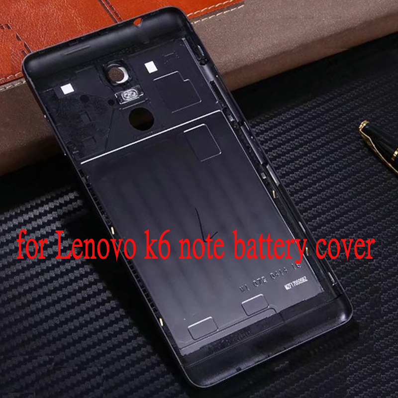 Yeuzoe for <font><b>Lenovo</b></font> K6Note Official Original Metal Cover Case for <font><b>Lenovo</b></font> <font><b>K6</b></font> <font><b>Note</b></font> Back <font><b>Battery</b></font> Cover Housing Replacement Parts image