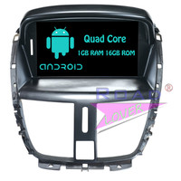 Roadloevr Android 6,0 автомобилей Радио 7 дюймов 2Din gps навигации для peugeot 207 стерео dvd плеер Системы Automagnitola мультимедиа MP3