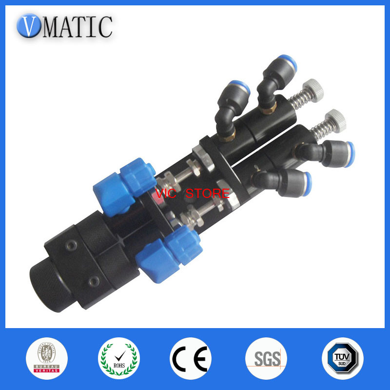high quality Needle off glue dispense nozzle small dispensing valve with ce certificates quality glue dispense nozzle dispenser controller needle off diaphragm dispensing valve