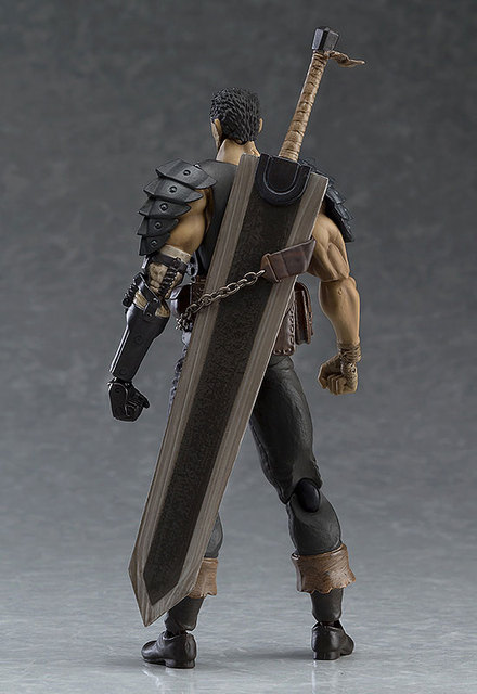 Game Figma 359 GUTS Black Swordsman Ver. Repaint Edition PVC Figures Model Toys 2