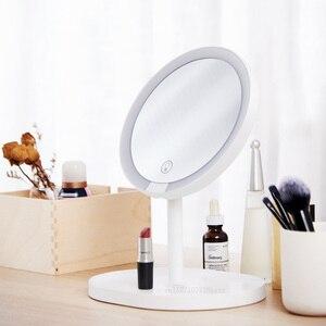 Image 2 - 새로운 Youpin XY 3 배 돋보기 메이크업 거울 거울 페이셜 브러쉬 클렌징 홈 욕실 화장품 거울