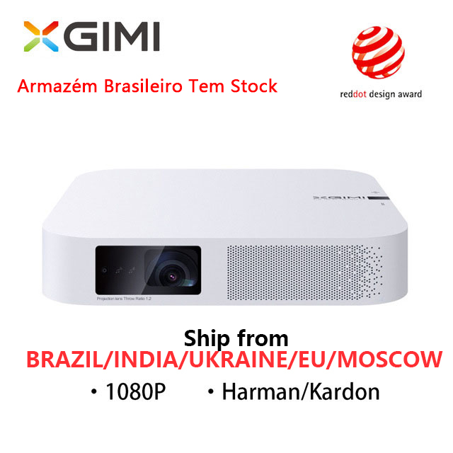 XGIMI Z6 Polar portátil Mini home theater inteligente 3D Android 6.0 wifi 1080 P Full HD projetores de Cinema Em Casa Do Bluetooth