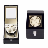 AC100 240V Watch Winder Wooden Watch Box Automatic Electric Rotary Rotating Display Box High Grade Mechanical