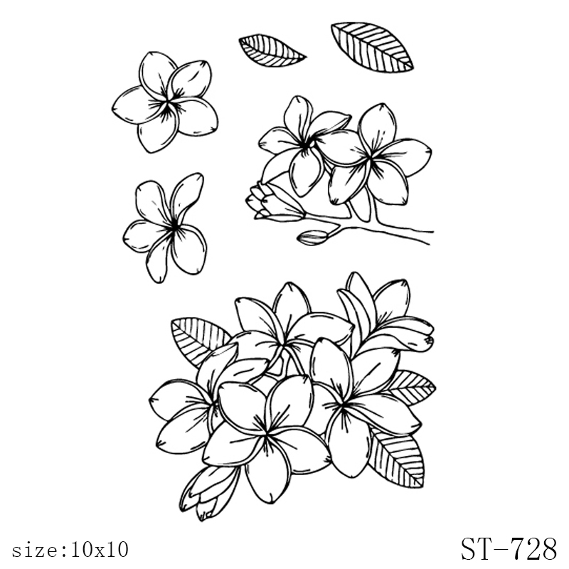 AZSG Petals and leaves clear stamps and Cutting Dies Animal 39 s Mood Seal for DIY Scrapbooking Photo Album Card Making in Stamps from Home amp Garden