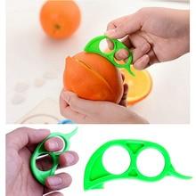 4Pcs Orange Citrus Fruit Peelers Lemon Tangerine Kitchen Gadget Slicer Cutter