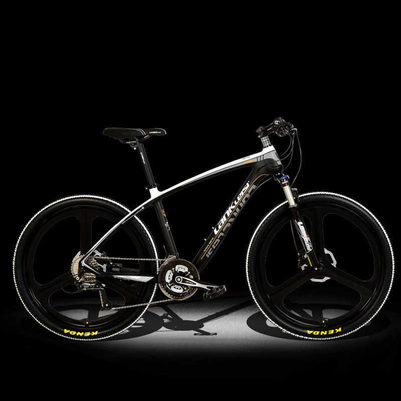 Nova marca mountain bike quadro de fibra carbono shiman0 freio a disco hidráulico 26 polegada roda 27 velocidade da bicicleta mtb esportes