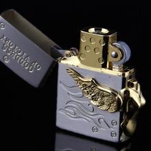 จัดส่งฟรีอิเล็กทรอนิกส์ไฟแช็กทองน้ำแข็งรูปร่างUSBชาร์จโลหะบางพนังของขวัญแบบพกพาUSB Flameless W Indproof 880