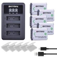 Np bx1 Bateria + 3 5pcs NP BX1 Slots Carregador de LCD para a Sony DSC RX100 DSC WX500 IV HX300 WX300 HDR AS15 X3000R MV1 AS30V HDR AS300