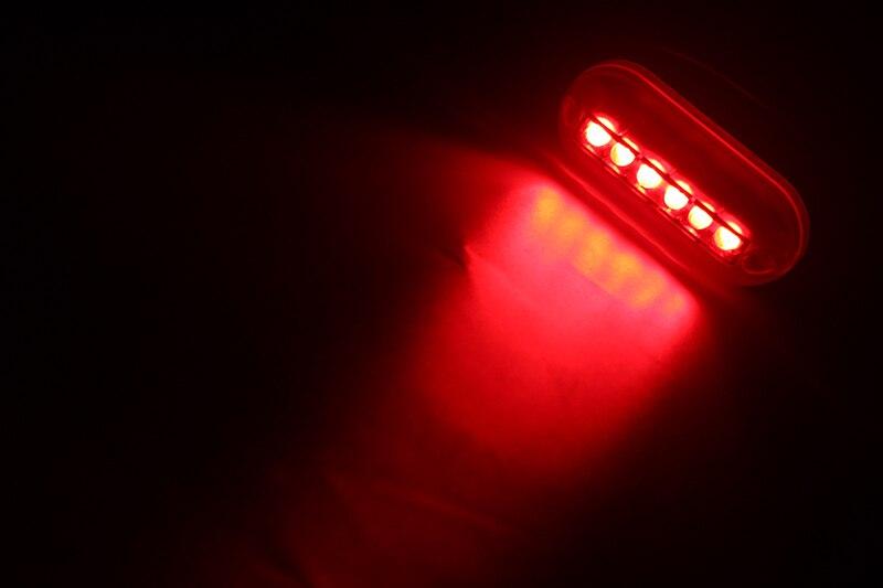 6 LED Underwater Night Light Water Landscape Lighting for Marine Boat