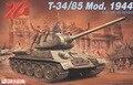 Dragão 1:35 6066 T-34 / 85 Modell 1944