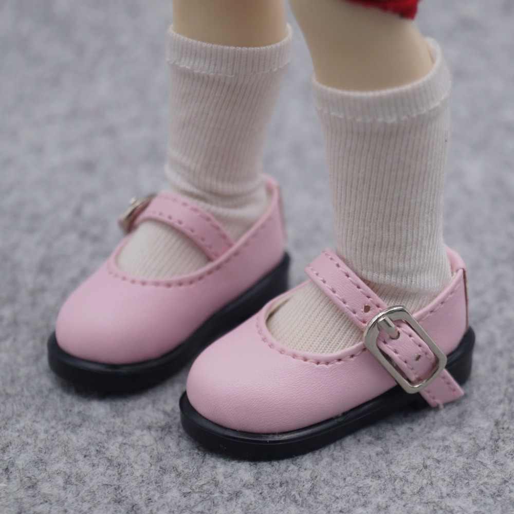 """BJD кукла розовая Синтетическая кожаная обувь на плоской подошве для 1/4 1/6 11 """"27 см 17"""" 44 см высота BJD кукла MSD YOSD DK DZ AOD кукла бесплатная доставка"""