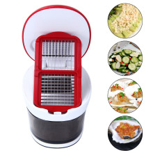 Manual Garlic Chopper Garlic Slicers Multifunction Garlic Cutter Vegetables Cut Grinder Machine Kitchen Tool free shipping silicone garlic peeling artifact garlic peeling artifact manual squeezing garlic garlic crushing garlic grinder