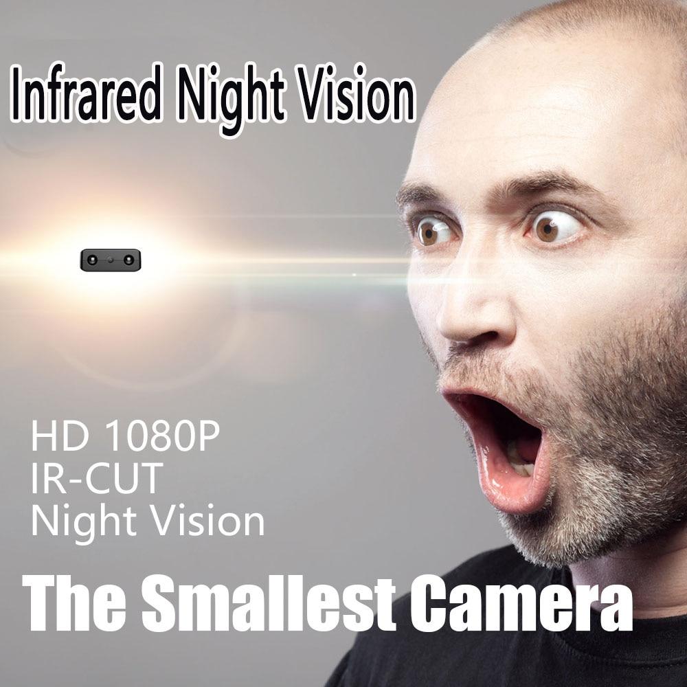 XD IR CUT Mini Camera Smallest 1080P Full HD Camcorder Infrared Night Vision gizli kamera Micro Cam Motion Detection DV Tiny