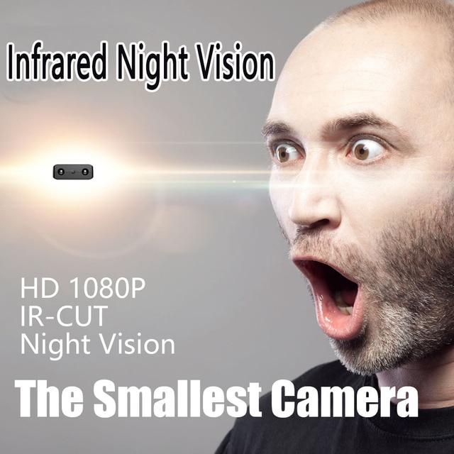 XD IR-CUT Mini Camera Smallest 1080P Full HD Camcorder Infrared Night Vision gizli kamera Micro Cam Motion Detection DV Tiny