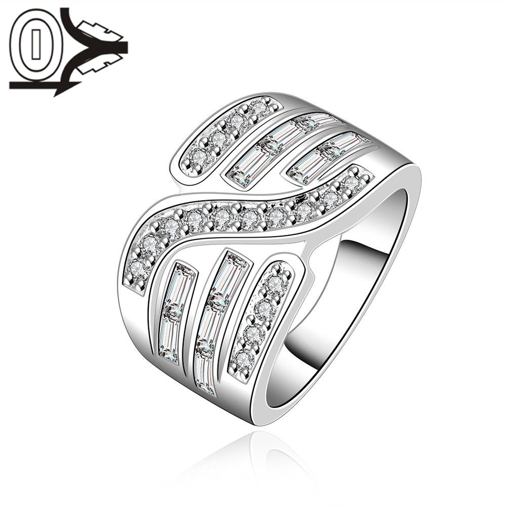 Christmas Gift Wholesale Silver-plated Ring,Silver Fashion Jewelry,Women&Men Gift Three  ...