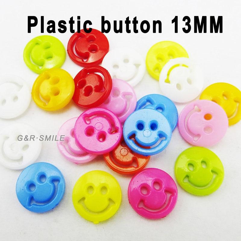 АКЦИЯ 100 шт смешанные формы много цветов Сделай Сам Скрапбукинг Мультяшные кнопки пластиковые кнопки детская одежда швейные принадлежности P-001 - Цвет: 20