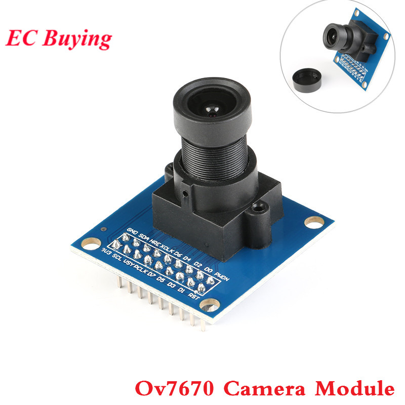 US $1 81 9% OFF|1Pcs OV7670 300KP Camera Module VGA CIF stm32 DIY for  arduino-in Integrated Circuits from Electronic Components & Supplies on