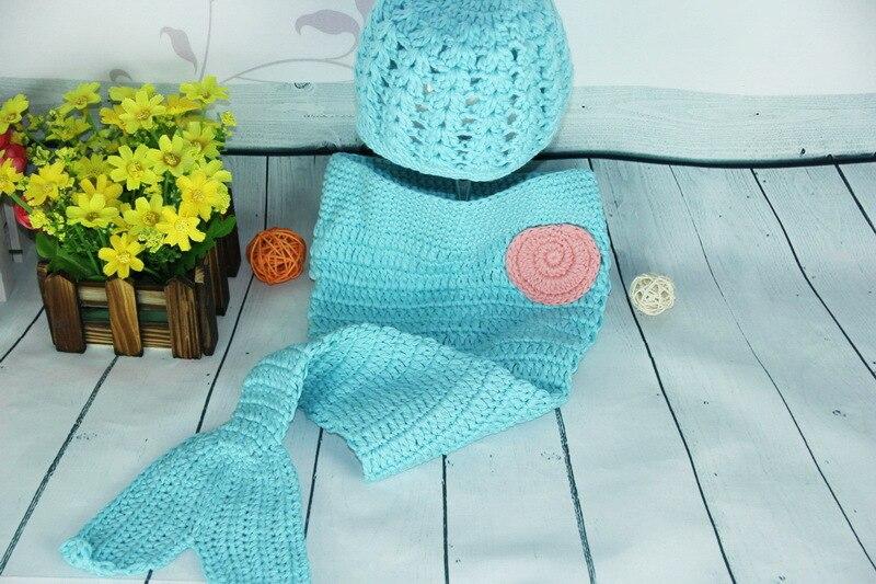 Free Shippingcrochet Baby Mermaid Tail Cocooncrochet Newborn
