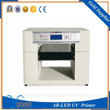 CE certification A3 size 6 color uv flatbed printer AR-LED Mini4 adding height