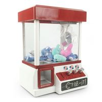 Classic Claw Machine Candy Grabber Prize Dispenser Vending Machine Birthday Christmas Gifts For Boys Girls